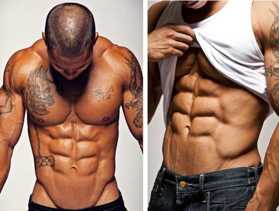 build lean muscle at home