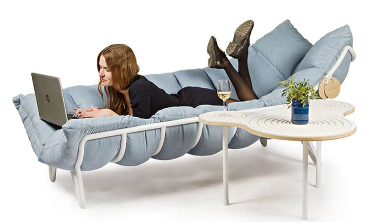 The Polyester Couch