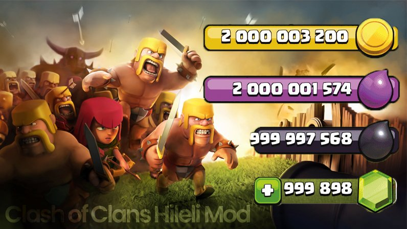 Controlling Clash Of Clans