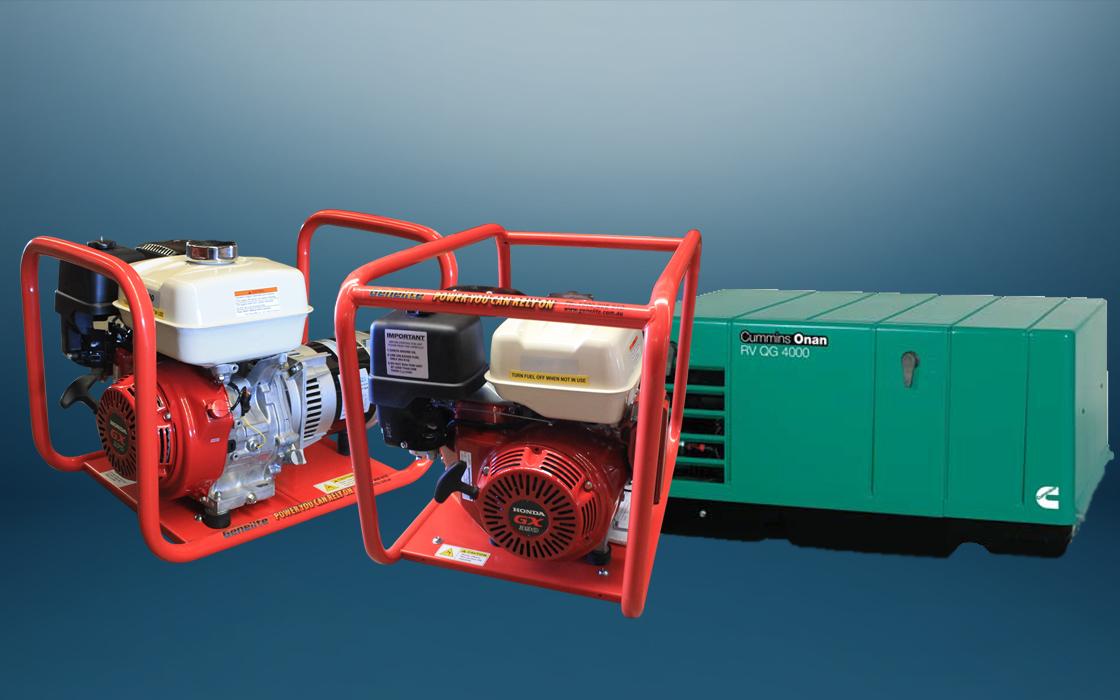 power generators for hire Sydney